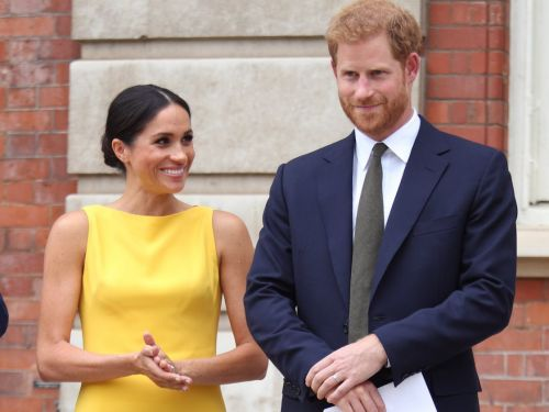 Meghan Markle and Prince Harry appeared to shun royal precedent by holding hands in public - something Prince William and Kate Middleton rarely do