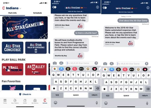 MLB Ballpark app adds Apple Business Chat-powered concierge experience for All-Star game