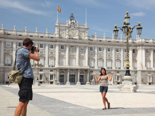 I used credit card points to fly round-trip from the US to Spain in business class for only $232, thanks to an under-the-radar strategy