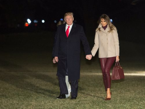 Melania and Donald Trump broke protocol in an unusual way - and it could unveil a mystery about the state of their marriage