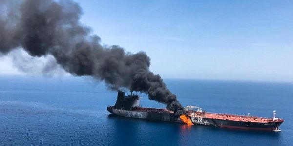 An oddly-placed mine suggests Iran may have been purposefully pulling its punches in the tanker attacks so far