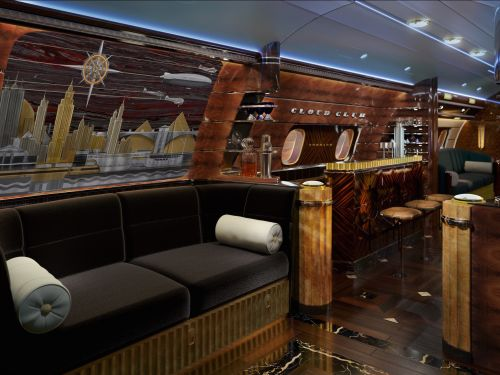 Take a look inside this $83 million private jet that's a flying luxury lounge with panoramic views