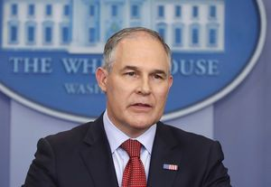 EPA chief denies sidelining science pros to appease industry