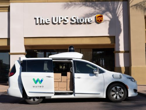 Waymo will start shuttling packages for UPS in Arizona by the end of March