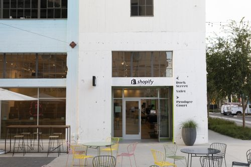 Shopify opens its first brick-and-mortar space in Los Angeles