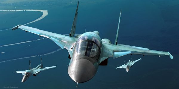 Advanced Russian fighter jets collide in mid-air with at least one crashed near Japan