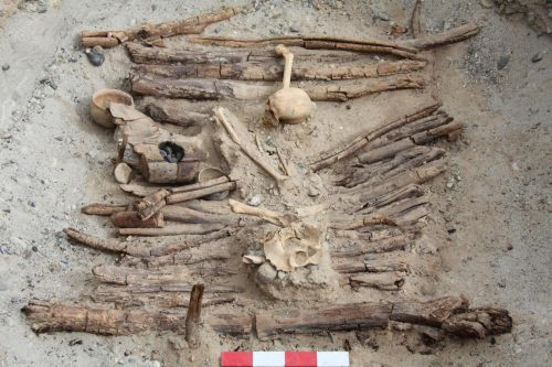 People in western China smoked marijuana to bury their dead 2,500 years ago - the oldest evidence of weed smoking in human history