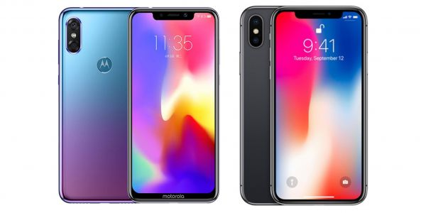People are roasting Motorola's new phone for looking like an exact copy of the iPhone X