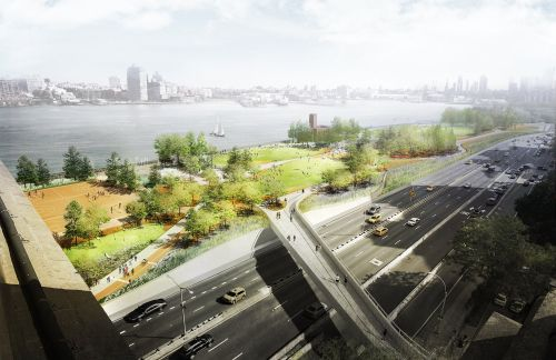 Manhattan is building a massive $1 billion wall and park to guard against the next inevitable superstorm
