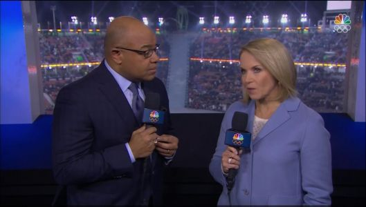 Katie Couric is being mocked for saying the Netherlands dominates speed skating because it's 'an important mode of transportation' in Amsterdam