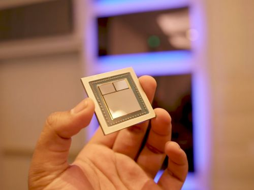 Advanced Micro Devices is dropping right before earnings