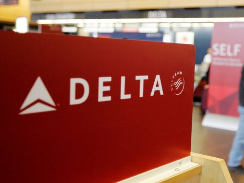 A Delta passenger with multiple sclerosis was tied to a wheelchair with a blanket for transport, family claims