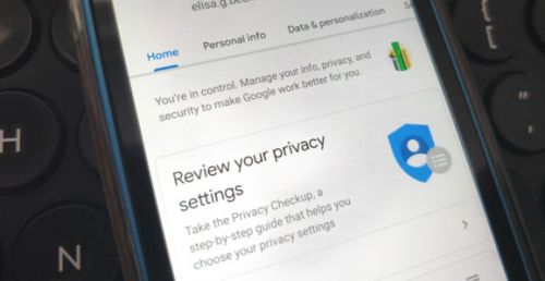 Google Account gets security and privacy refresh on Android, including clearer layout and new search feature