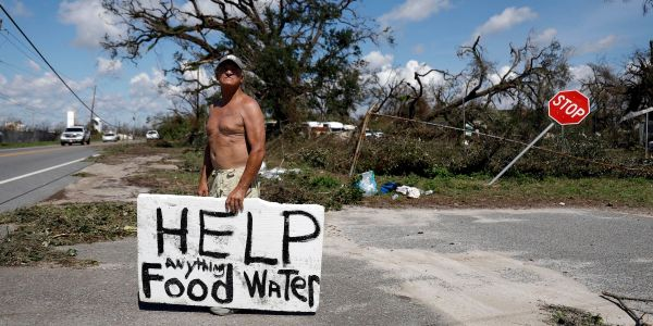 The search for survivors begins in Florida as Hurricane Michael death toll rises to 7