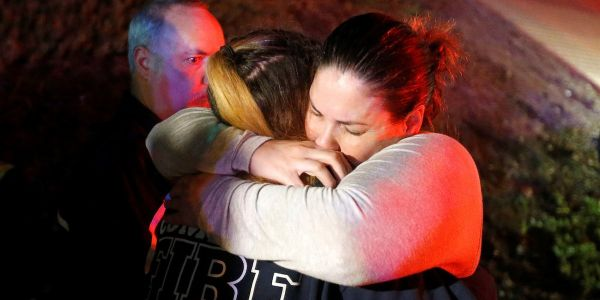 Las Vegas shooting survivors got hit again at Thousand Oaks - here's how they're coping with twin tragedies