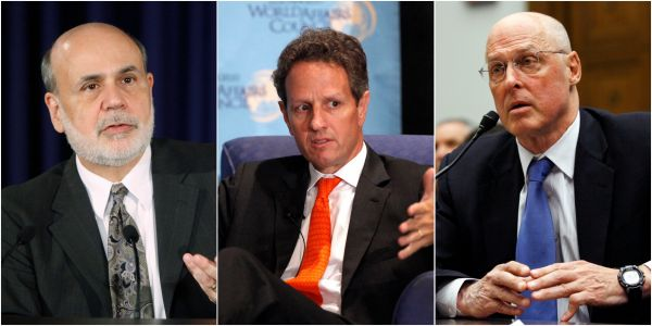 Three US financial titans are worried we're forgetting the lessons learned from the 2008 crisis