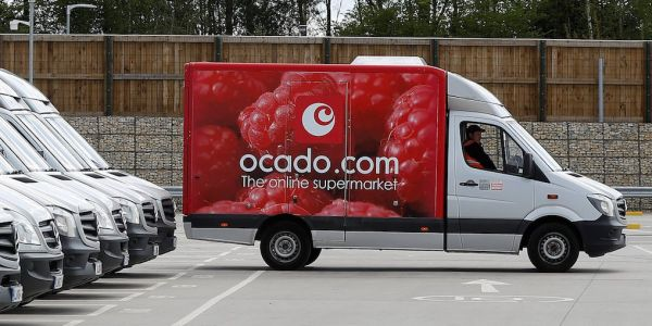 Kroger signed a 'transformational' deal with UK online grocer Ocado - and Ocado's shares are sky rocketing