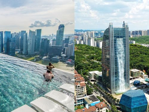 9 gravity-defying building designs for people who aren't afraid of heights