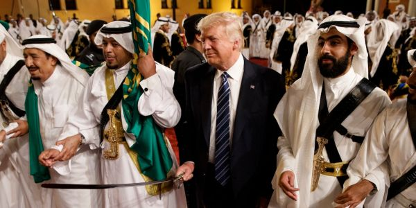 Trump says he has 'no financial interests in Saudi Arabia.' But his businesses have made millions from the Saudi government, and the crown prince gave his New York City hotel a huge boost