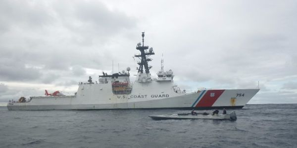 The Coast Guard's 'push-out-the-border strategy' is fighting drugs in the Pacific - and it just brought home $500 million in cocaine