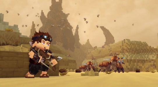 Beware, Minecraft and Roblox. Here comes the blocky world of Hytale