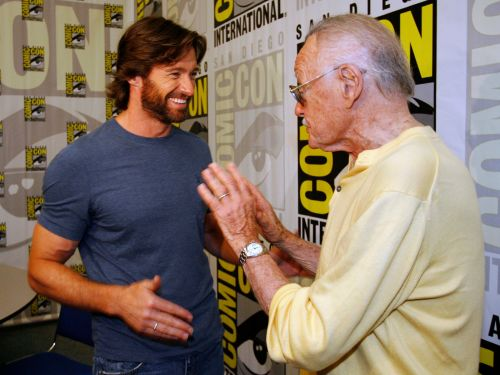 Hugh Jackman remembers when Stan Lee stole his spotlight on a Comic-Con red carpet
