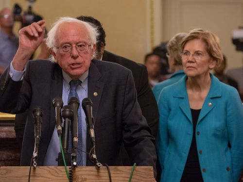 Bernie Sanders and Elizabeth Warren accuse Amazon of 'potentially illegal' activity in new attack against the company's labor practices