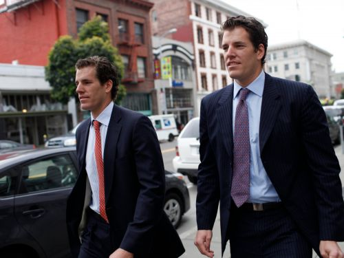 The Winklevoss twins have seen about $600 million wiped off their bitcoin wealth in 2 days