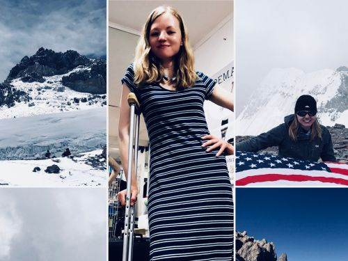 8 powerful life lessons a tech exec learned when her charity climb to one of the highest summits in the world tested her physically and mentally
