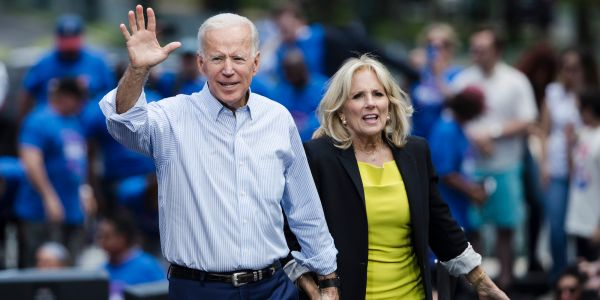 Joe and Jill Biden reported earning $16.5 million from book deals and speaking engagements since leaving the White House