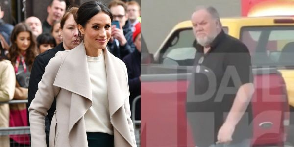 Meghan Markle's dad will attend the Royal Wedding and walk her down the aisle - but her half-brother is calling for the whole thing to be canceled