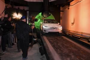 The Latest: Elon Musk allows rides on underground tunnel