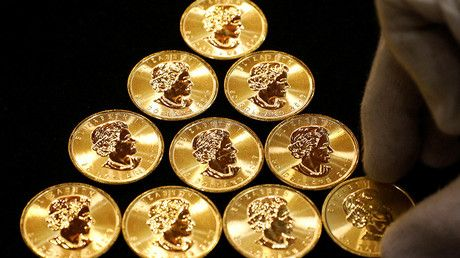 Online gold coin sales soar 400% as cryptocurrencies plunge