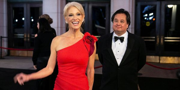 It's not just George and Kellyanne Conway- 39% of Americans in relationships said the Trump administration is a source of stress in their partnership