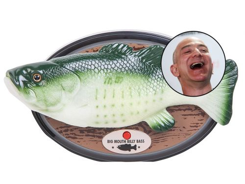 You can now buy a Big Mouth Billy Bass that works with Amazon Alexa - the fish's lips will even sync up with what Alexa is saying