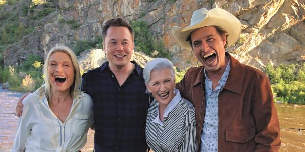 Elon Musk's mother, supermodel Maye Musk, talks about raising successful children and leveling up her career at every age