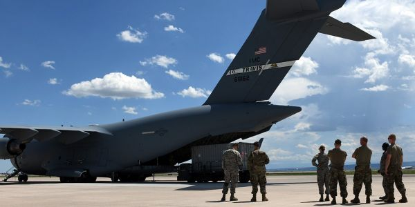US military bases are still using Chinese surveillance video cameras just weeks before a federal ban takes effect