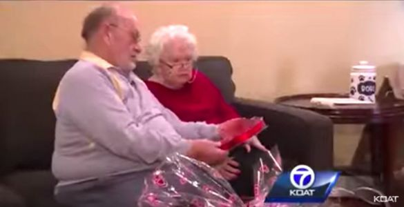 A man has bought the same Valentine's Day chocolates for his wife with dementia for 39 years - and they're the real-life version of 'The Notebook'