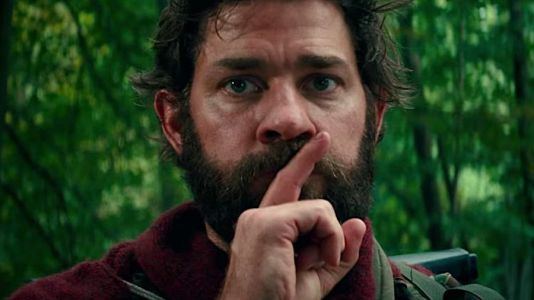 John Krasinski is writing a sequel to his hit horror movie, 'A Quiet Place,' after first telling the studio to move on without him