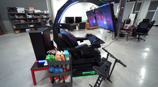 This $30,000 rig is the craziest gaming setup we've ever seen