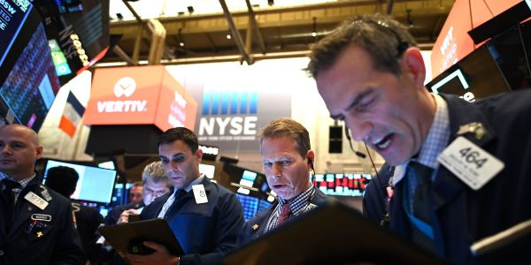 US stocks trade mixed as investors digest March inflation surge and J&J vaccine pause