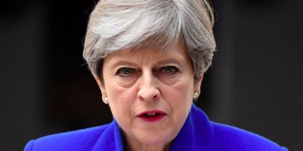 Theresa May warns that 'hostile' Russia will tear Europe apart