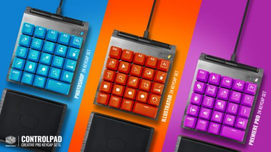 Cooler Master's analog keypad hits its crowdfunding goal