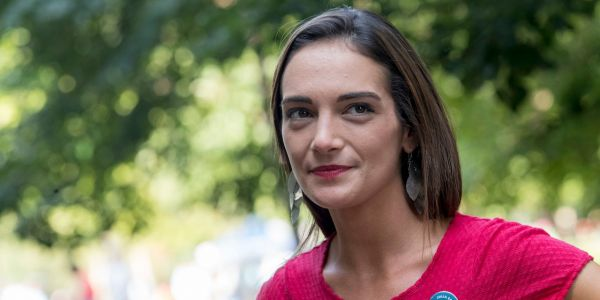 Julia Salazar, the controversial 27-year-old democratic socialist running for New York State Senate, faces her big test in the New York primary