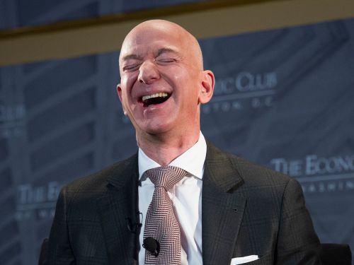 Amazon just became the world's most valuable company, ending Microsoft's spot at the top after five weeks