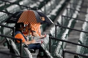 Twins-Orioles game rained out in Baltimore