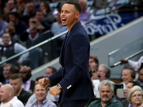 Stephen Curry broke traditional NBA style to wear an elegant $57,000 Cartier watch courtside