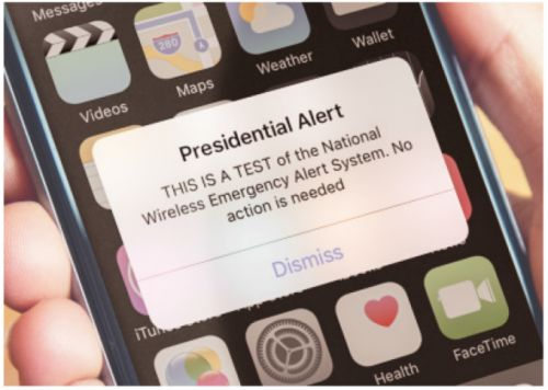 FEMA to send its first 'Presidential Alert' in emergency messaging system test