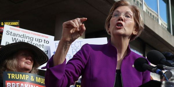 Elizabeth Warren reportedly trashed White House's John Kelly over his embarrassing emails