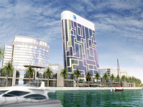 Dubai is constructing a building that looks like a giant iPad and has so much technology it acts like 'Iron Man's armor'